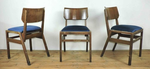 Vintage Stacking Ben Chairs for sal4