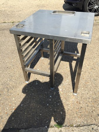 Stainless Steel Combi Stand