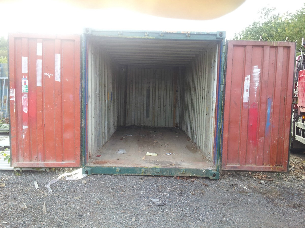 Secondhand Portable Buildings | Shipping Containers | 20ft ...