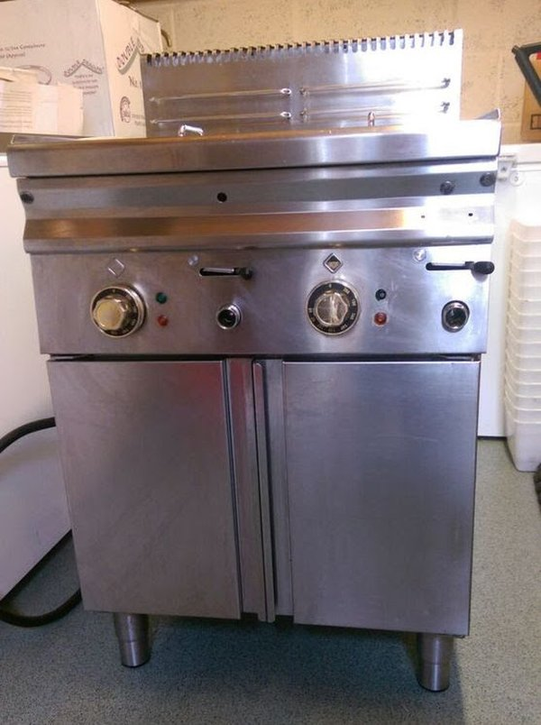 Hobart Twin Well Fryer 3 Phase Supply
