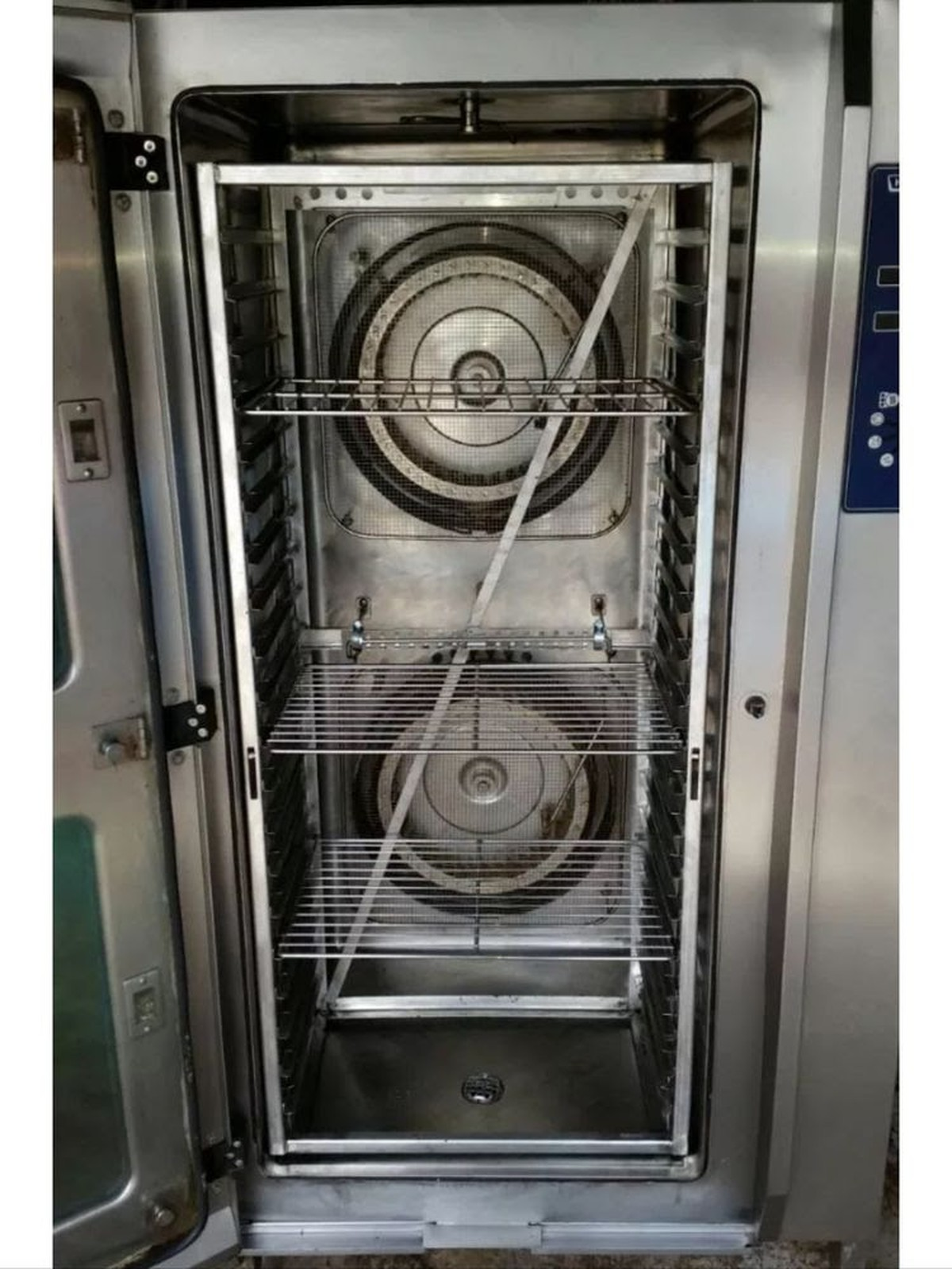 Hobart Csmh 20 Grid Combi Oven