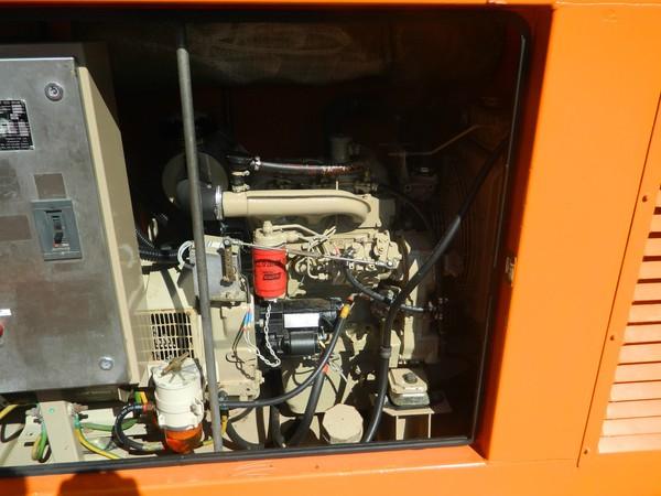 2003 40kva Iveco Diesel Generator -Preston, Lancashire 3