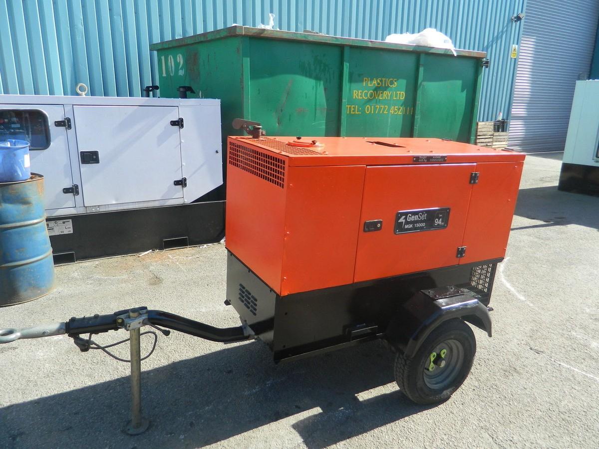 Diesel Generator For Sale >> 2008 15kva Gen Set Kubota Diesel Generator Preston Lancashire