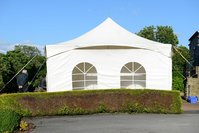 6x3m White Marquee