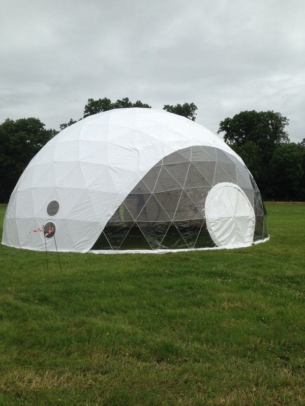 44 Foot Vinyl Dome Cover