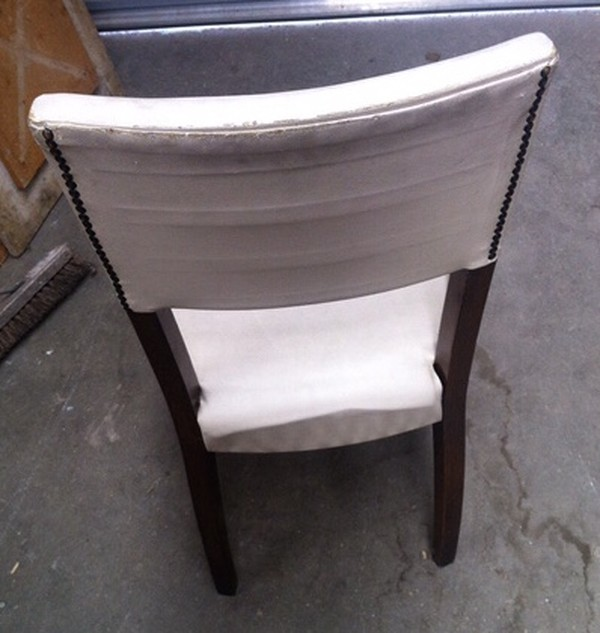 Job Lot of 17 White Dining Chairs