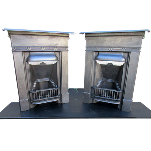Two Late Edwardian to 1930's fireplaces