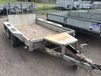 Ifor Williams GX 105 Plant Trailer