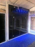 Oasis Black Nightclub Theme Door And windows