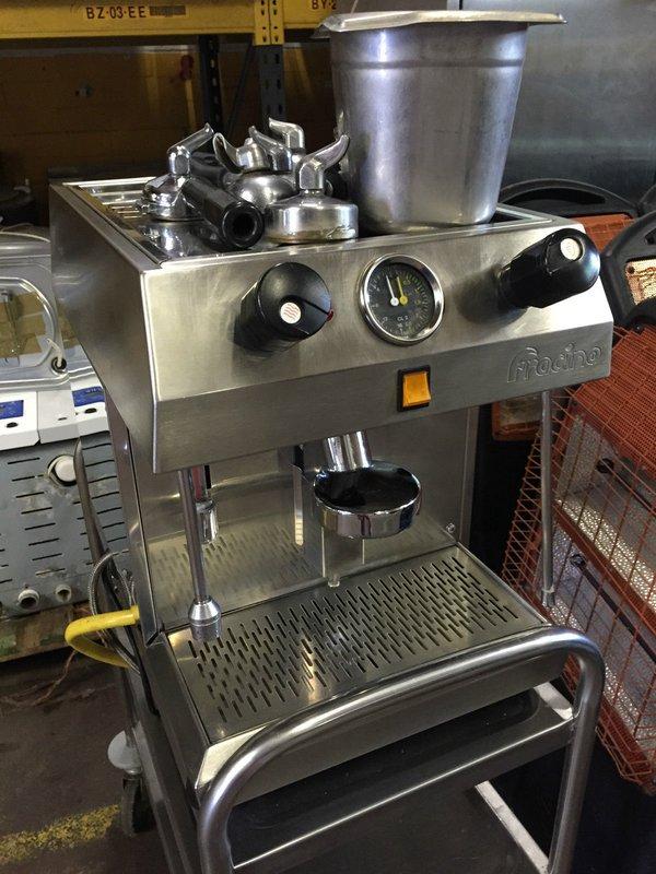 Fracino single 1 group coffee machine cappuccino espresso