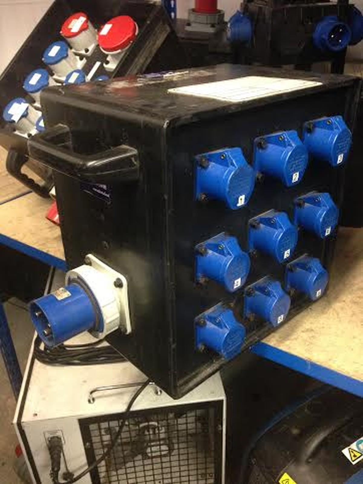 Secondhand Generators Power Distribution 3x Distro 63