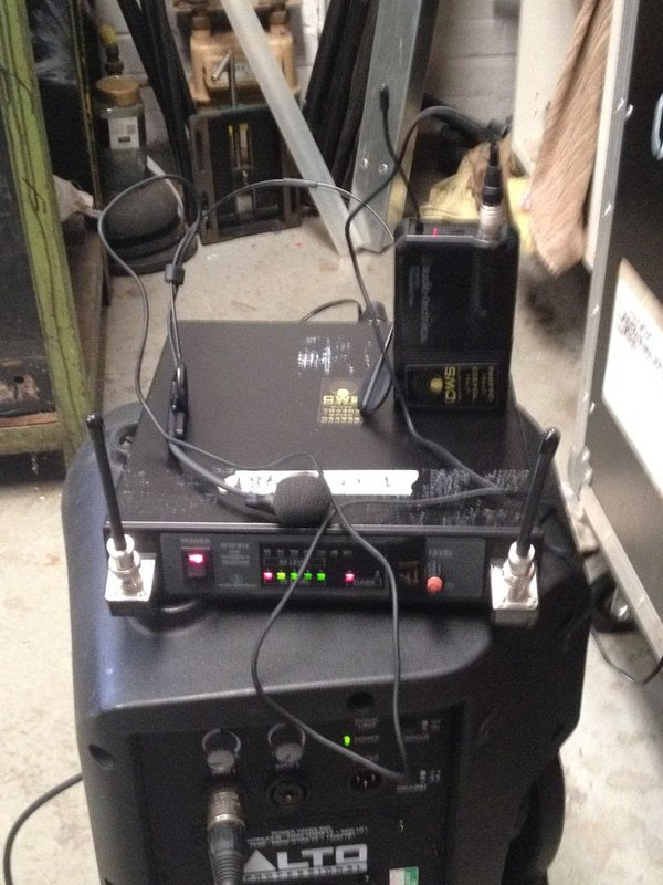 Audio Thechnica ATW R14 Radio Microphone