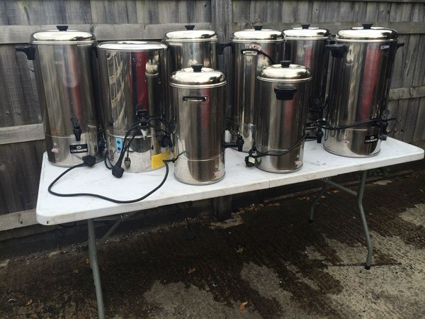 Chefmaster Water Boilers  for sale