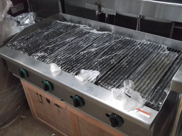 New 4 Burner Char Broiler (3210)