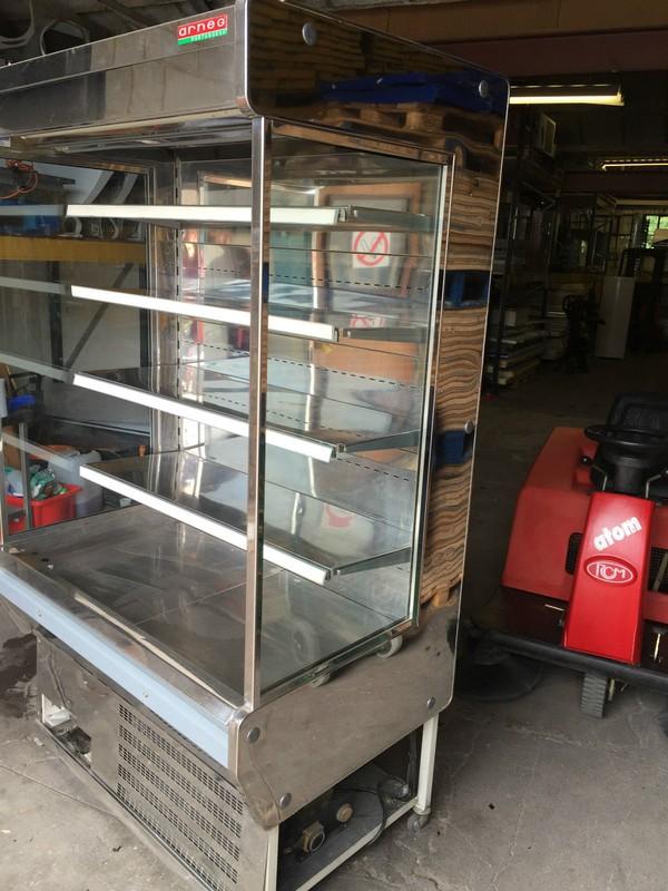 Arneg commercial stainless multideck display fridge