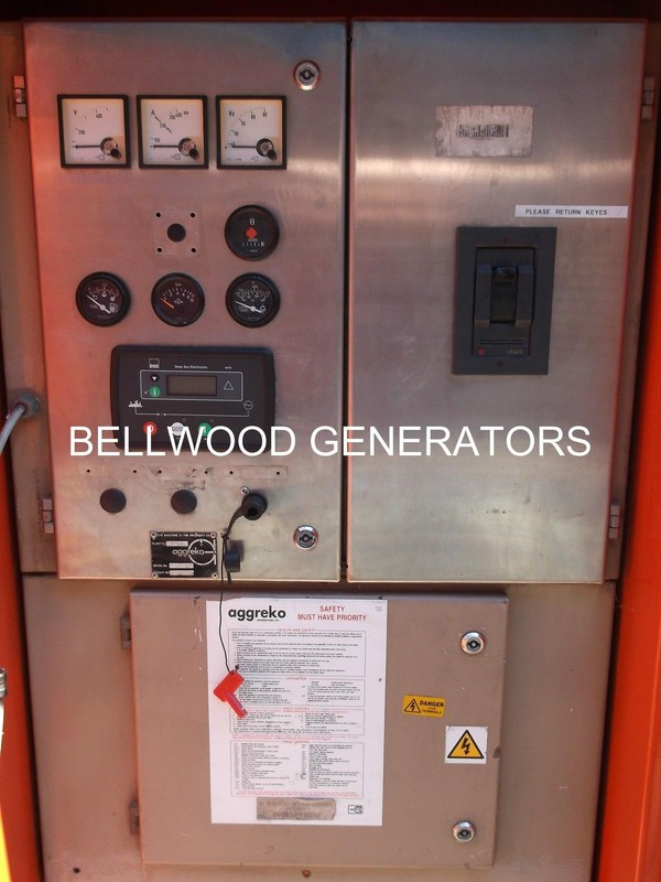 Reconditioned Aggreko super silent diesel generator