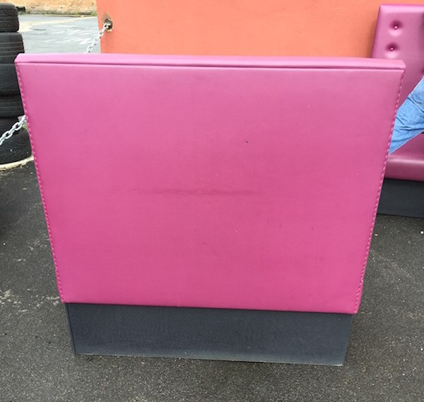 Cerise Booth Seating