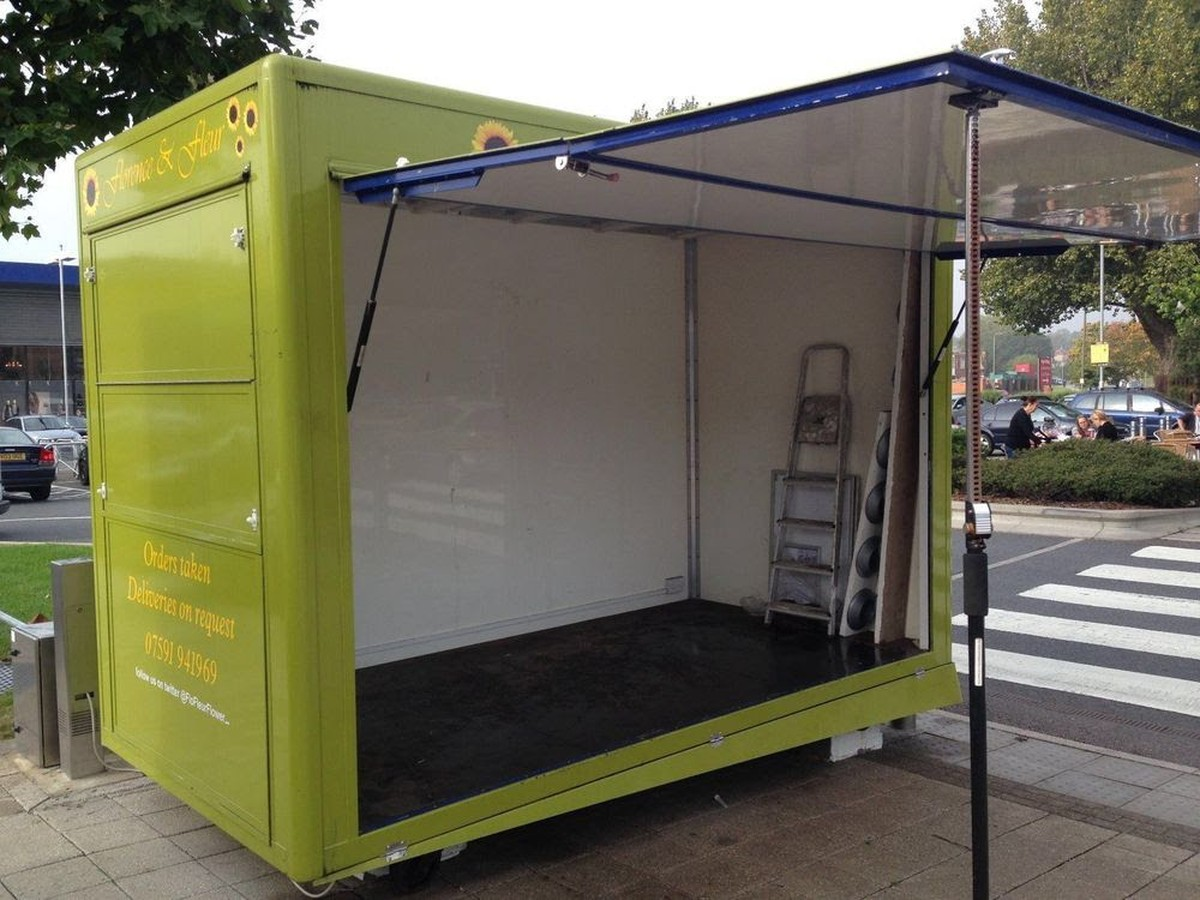 Secondhand Shop Equipment Mobile Shops Catering