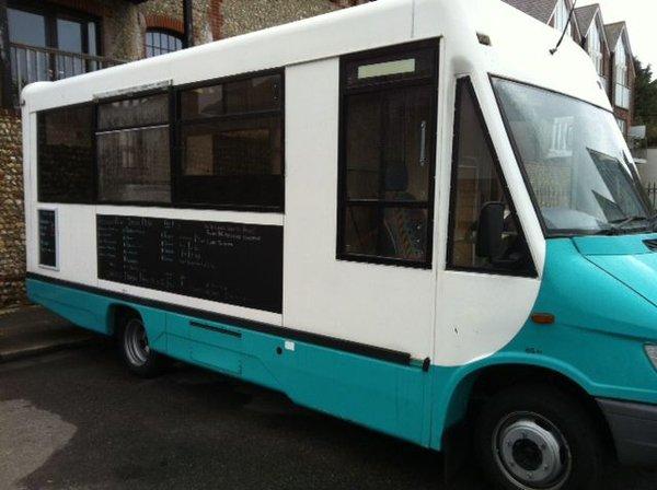 Mercedes mobile kitchen