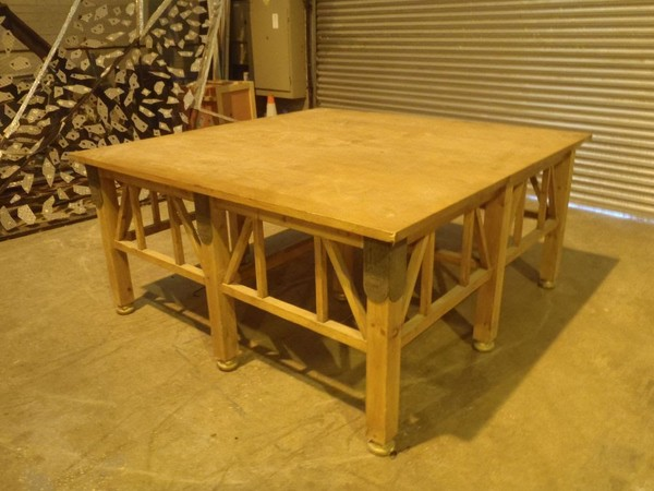 Table and Pyramid Film Prop for sale