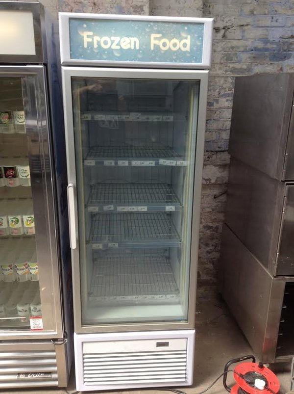 Frozen food display freezer for sale