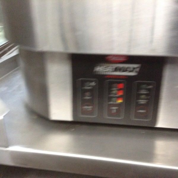 Used Hatco cook and hold soup kettle