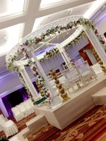 Crystal Pillars Mandap