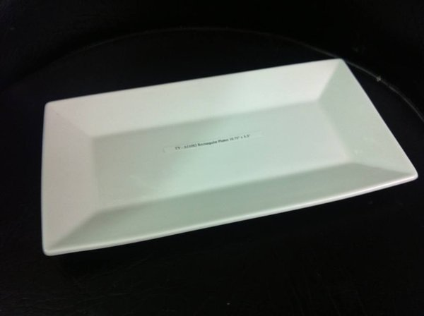Rectangular plate for sale