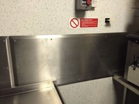 Stainless Steel Splash Back Panels