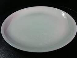 "Dudson Plaza Model 430q Size 21.5cm or 8.1/2"" White"