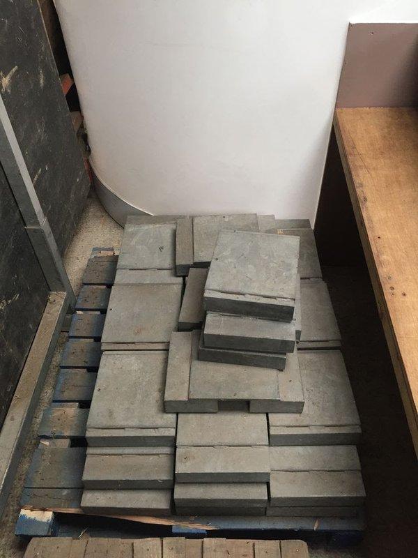 Steel sub frame floor weights