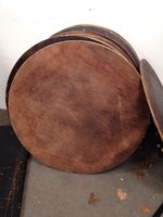 600 Round Wooden Banqueting Tables