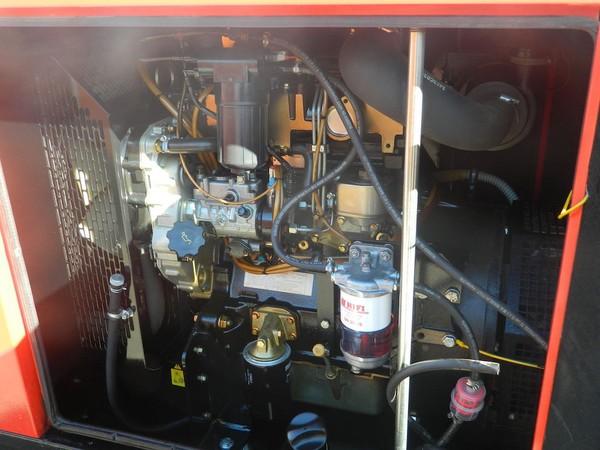 Second Hand Towable Silent Diesel Generator