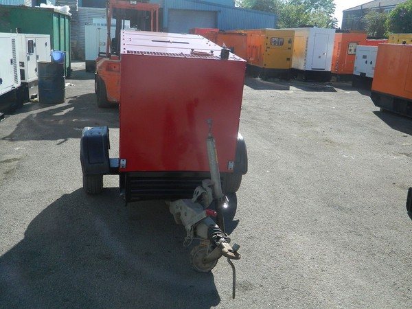 Towable Silent Diesel Generator for sale