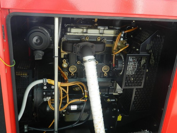 Used Towable Silent Diesel Generator