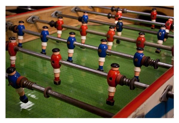Retro Bar Football Table