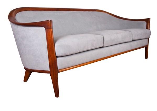 Sixties Upholstered Sofa Swedish