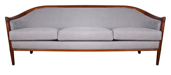 Upholstered Sofa Swedish c.1960
