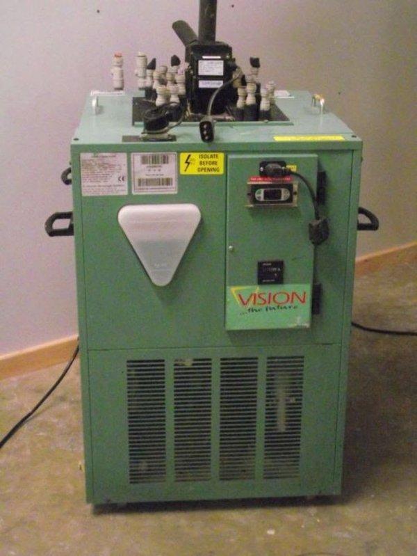 Scotsman vision 2 remote cooler, model no . 01120312.