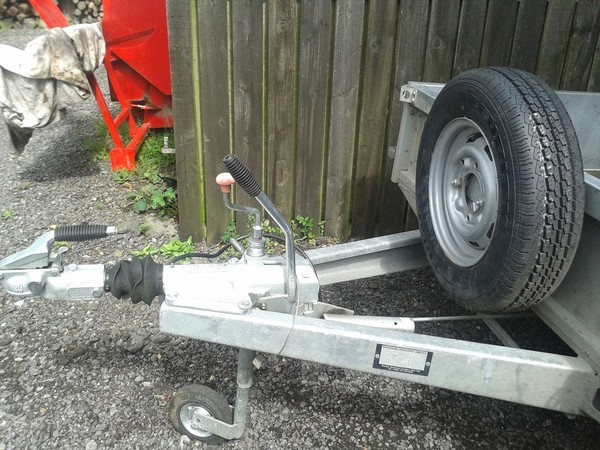 Second hand 2T plant trailer for sale