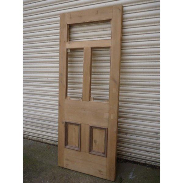 Restored Victorian Edwardian 5 Panel Unglazed Door