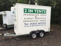 Walk in refrigerated / freezer trailer