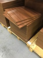 700 x 700 Walnut Table Tops