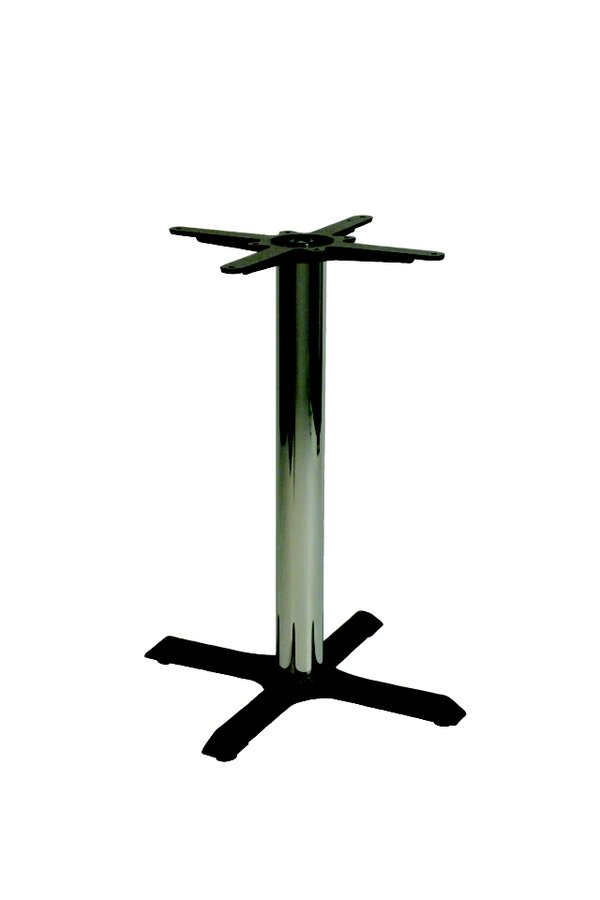 Orlando Chrome Column Table Base