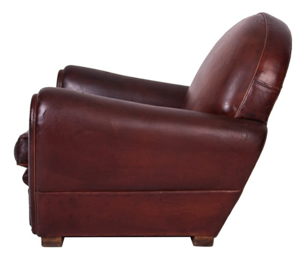 Child's Leather Club Chair c.1950