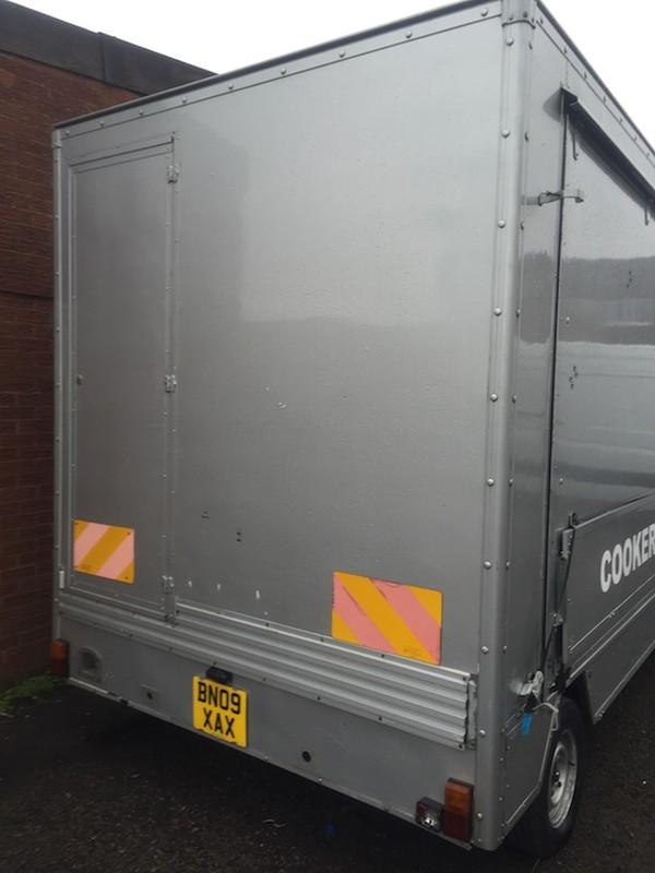 5.8m Exhibition trailer for sale