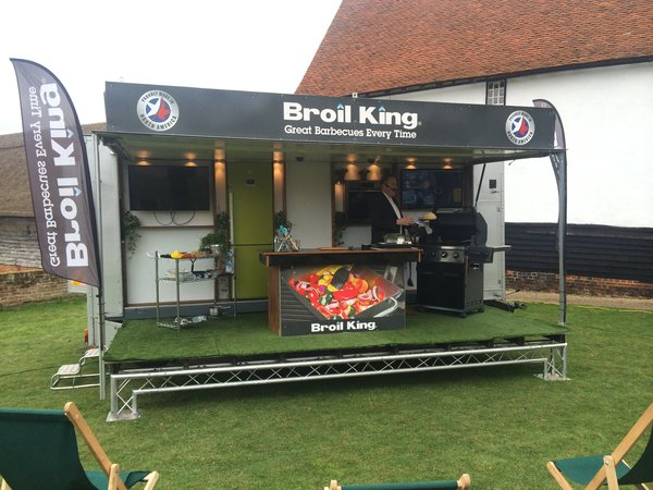 6m Stage / Exhibition Trailer for sale