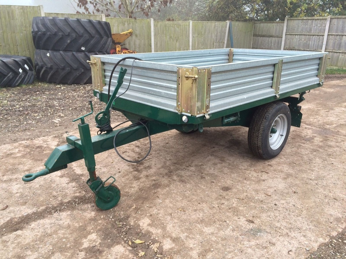 Secondhand Trailers Tipping Trailers Compact Hydraulic