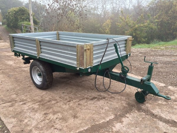 Compact Hydraulic Tipping Trailer - Staffordshire