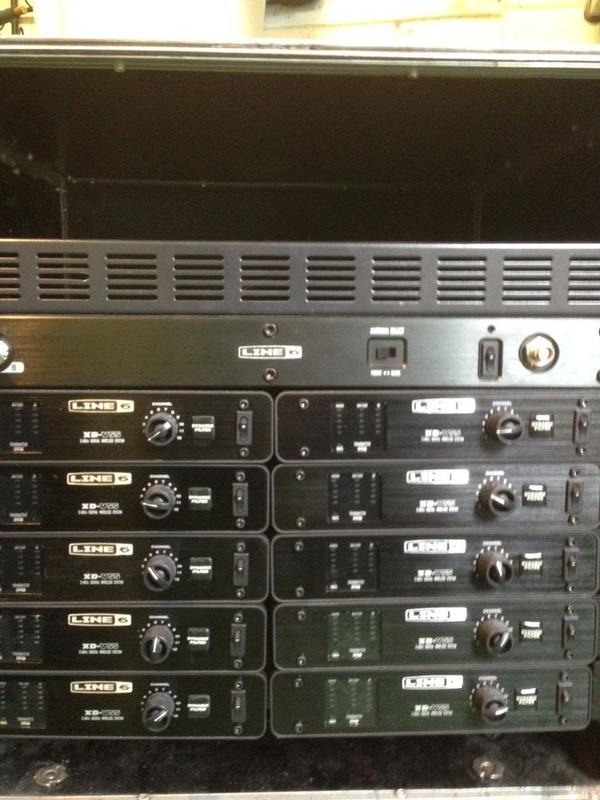 Line 6 XD V55 Wire less radio head sets